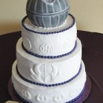 Death Star Wedding Cake [pic]