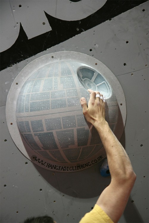 Star Wars Death Star Climbing Wall Hold