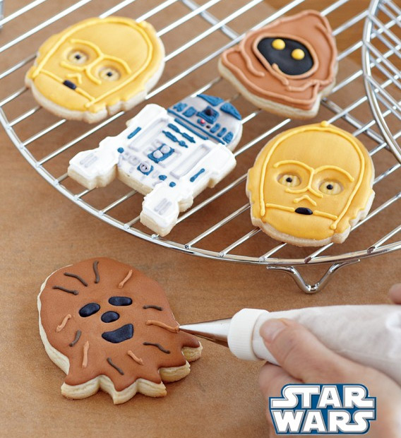 Star Wars Droids and Aliens Cookies