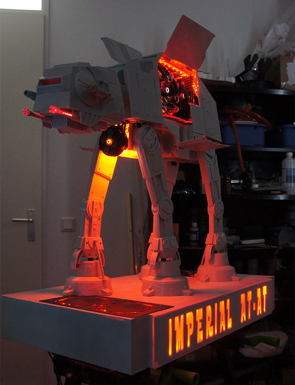 Star Wars Imperial AT-AT PC Case Mod