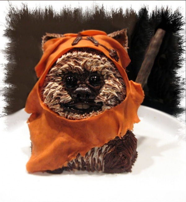 Star Wars Wicket Warrick Ewok Cake