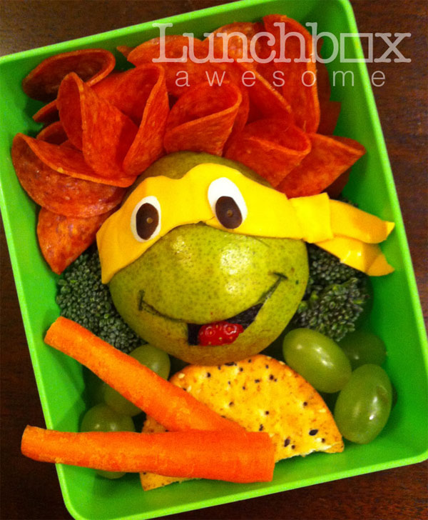 Teenage Mutant Ninja Turtles Lunch