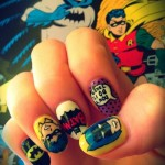 60′s Batman Fingernail Art [pic]