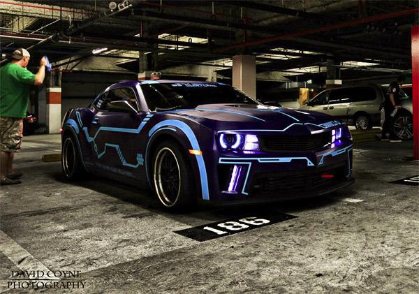 Custom Tron Camaro