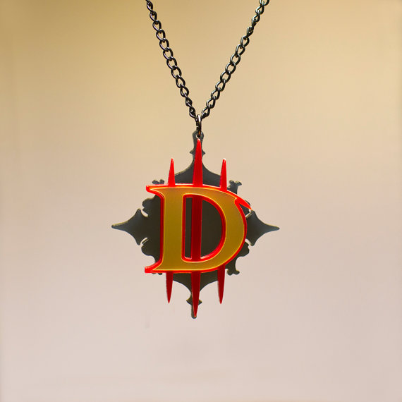 Diablo 3 Amulet Pendant Necklace