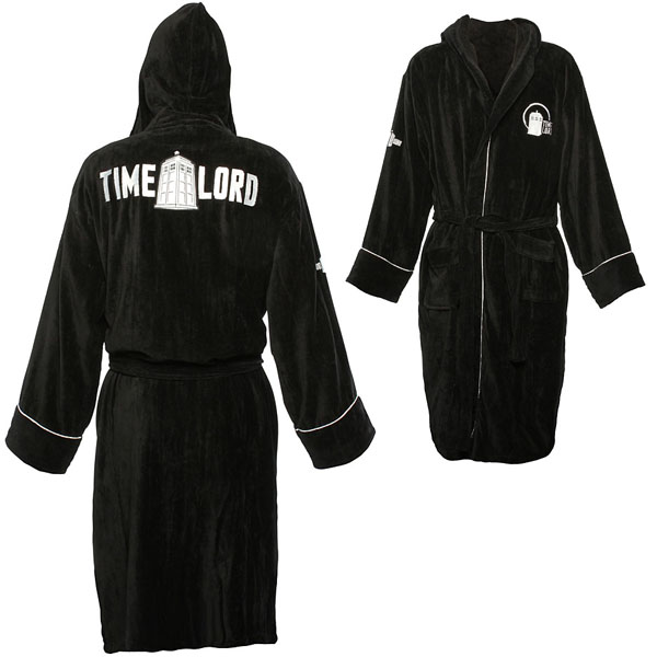 Doctor Who Timelord Bathrobe