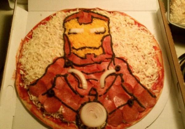 Iron Man Pizza