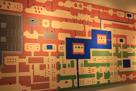 Legend of Zelda Map Wall Mural
