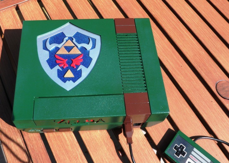 Legend of Zelda NES Console Mod