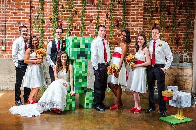 Minecraft Wedding