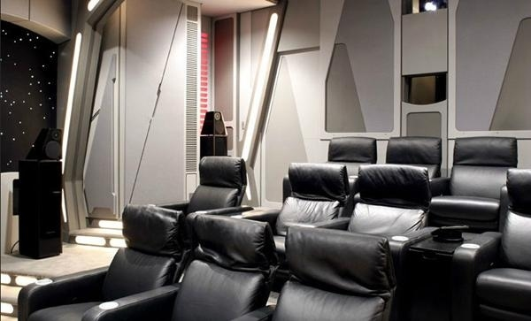 Star Wars Home Theater Back