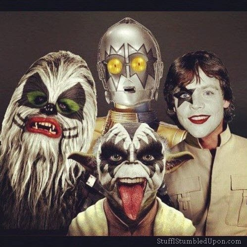 Star Wars Meets KISS