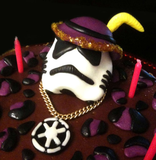 Star Wars Stormtrooper Pimp Cheesecake