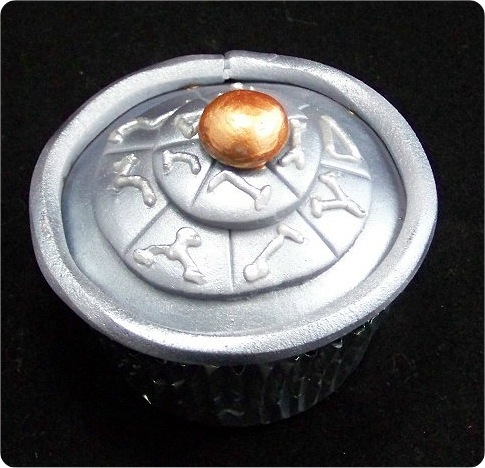 Stargate Dial Home Device Cupcake