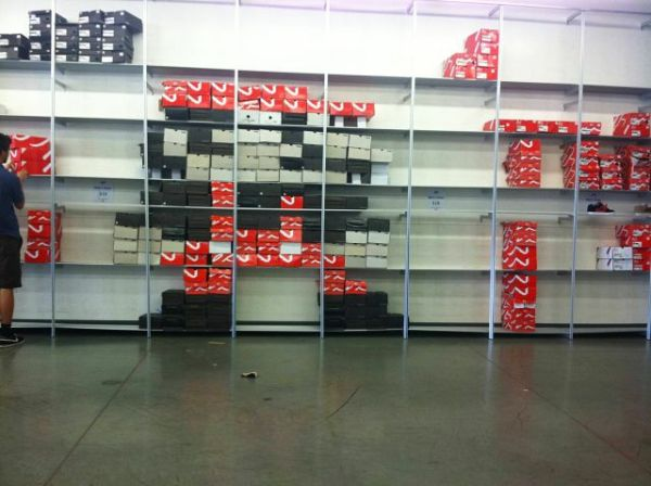 Super Mario Shoe Box Display