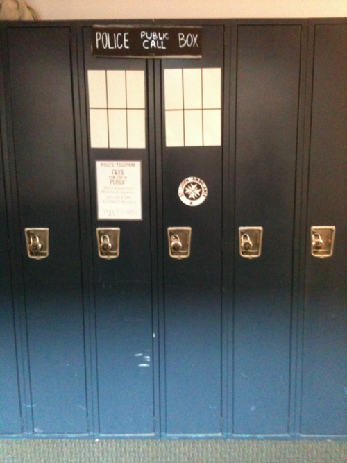 TARDIS School Lockers