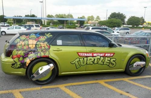 Teenage Mutant Ninja Turtles Station Wagon