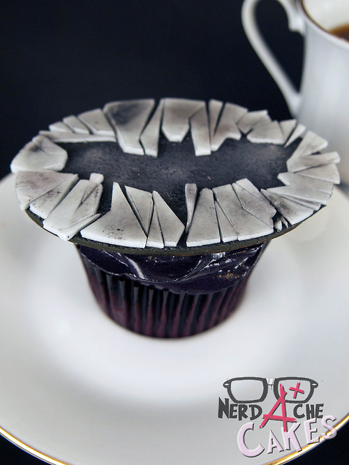 Batman Dark Knight Rises Cupcake
