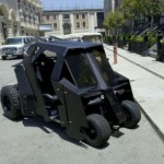 When Batman Goes Golfing, He Uses the Batcart [pic]