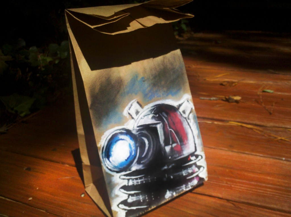 Doctor Who Dalek Lunch Bag Art