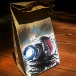 Dalek Lunch Bag Art [pic]