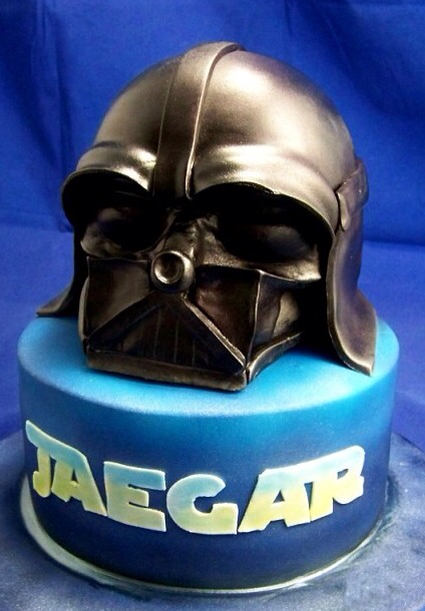 Star Wars Darth Vader Birthday Cake
