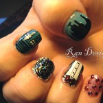 Doctor Who Fingernail Art
