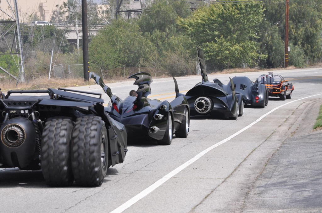 A Batmobile Traffic Jam