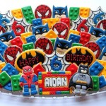 These LEGO Batman and Spider-Man Cookies Look Delicious! [pic]