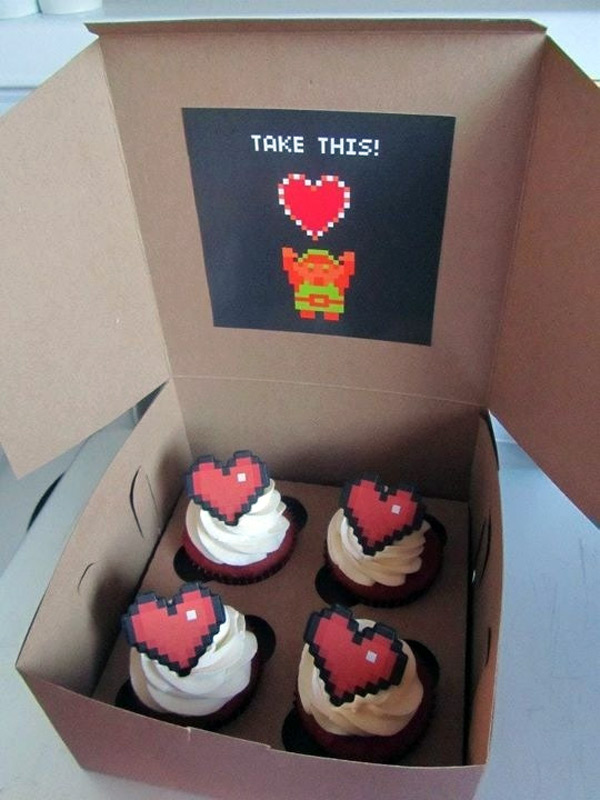Legend of Zelda 8-Bit Cupcakes
