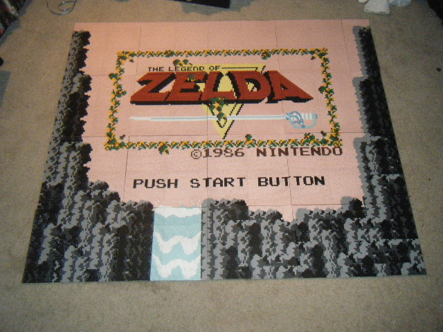 Legend of Zelda NES Bead Sprite