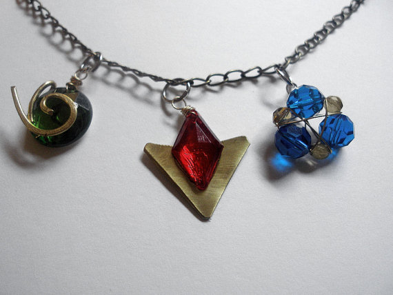 Legend of Zelda Spiritual Stones Necklace