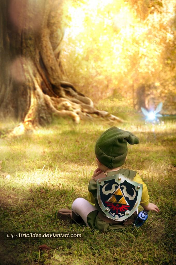 Little Kid Link Cosplay from the Legend of Zelda