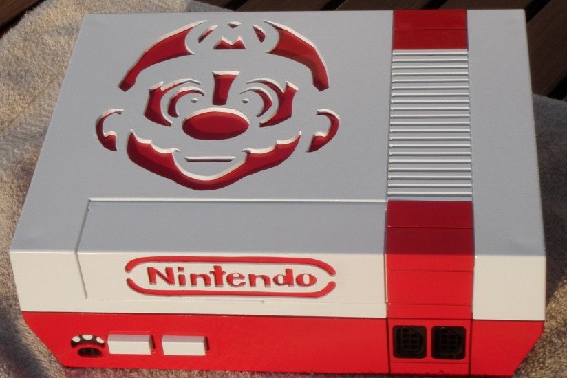 Mario Nintendo Entertainment System Console Mod