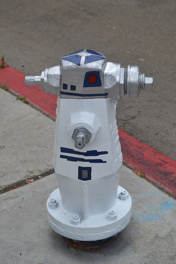 Star Wars R2-D2 Fire Hydrant