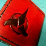 Klingon Leather Wallet [pic]