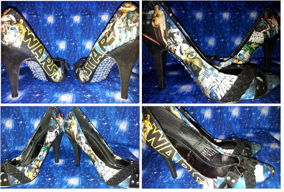 Star Wars High Heels