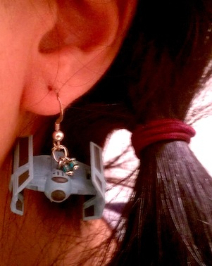 Star Wars Tie Bomber Earring