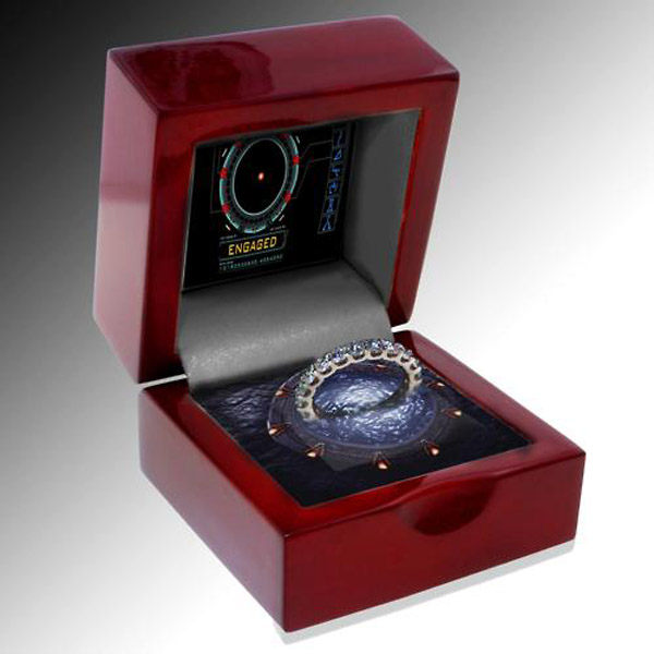Stargate Engagement Ring Box