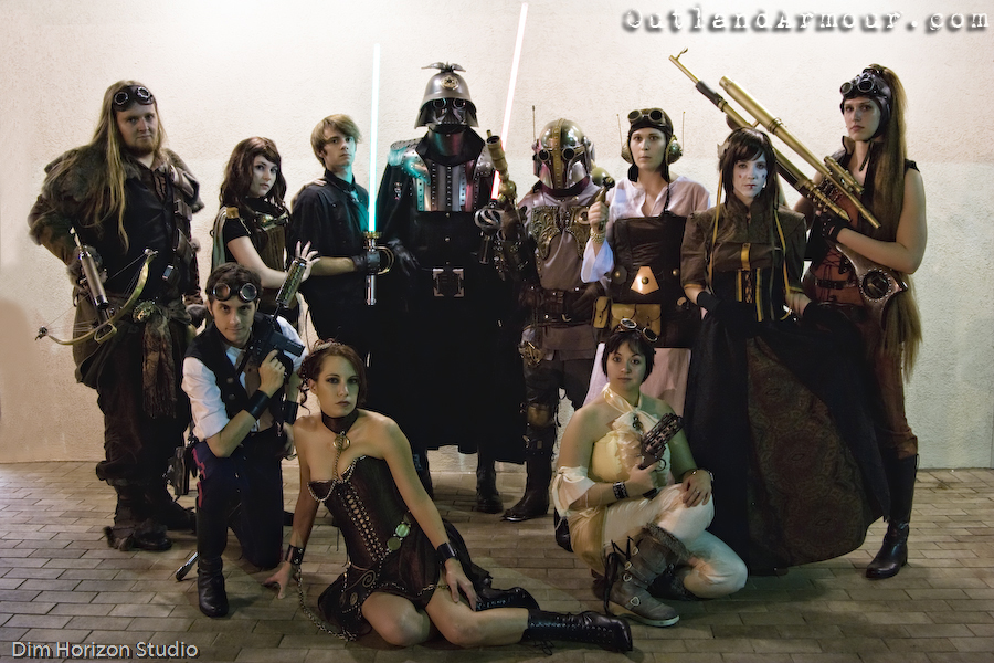 Steampunk Star Wars Group Picture
