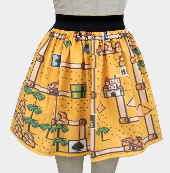 Super Mario Bros 3 Skirt Other Side