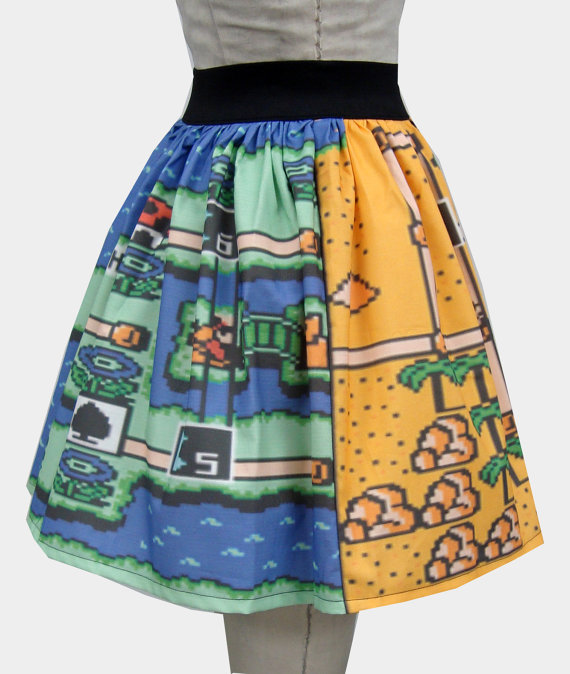 Super Mario Bros 3 Skirt Two Levels