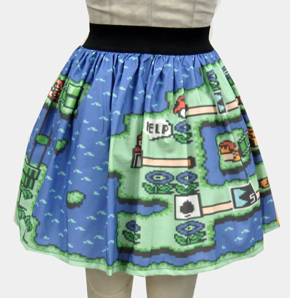 Super Mario Bros Skirt