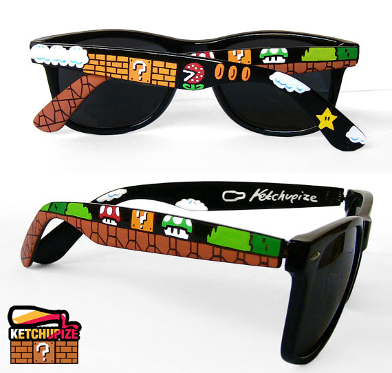 Super Mario Bros Sunglasses