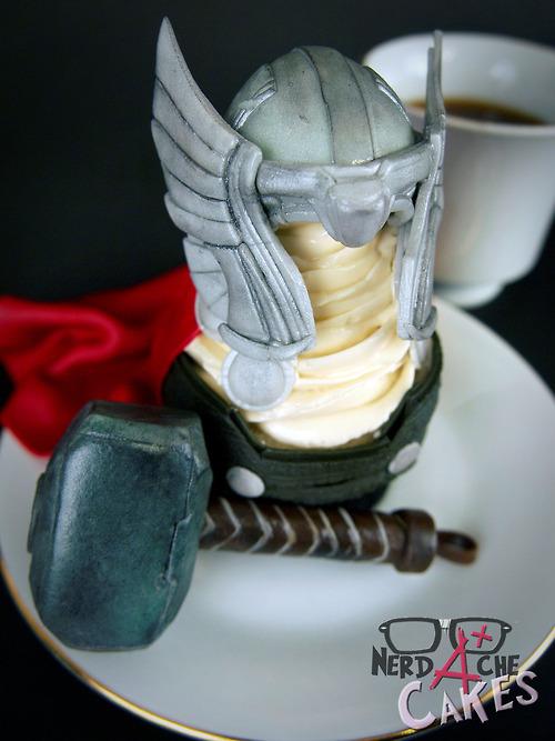 Thor Cupcake