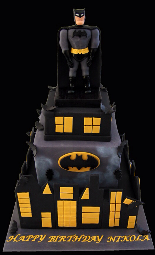 Cartoon Batman Cake