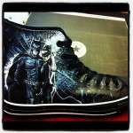 Hand-Painted Batman and Catwoman Dark Knight Rises Shoes [pic]