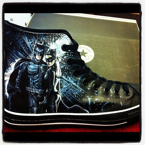 Batman and Catwoman Dark Knight Rises Shoes