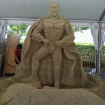 This Batman Sand Sculpture is Amazing! [pic]