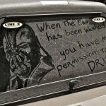 Dark Knight Rises' Bane Drawn on a Dirty Truck [pic]